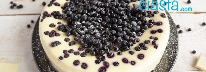 sernik z jagodami (pieczony)