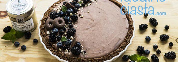 tarta z musem czekoladowym (bez pieczenia)