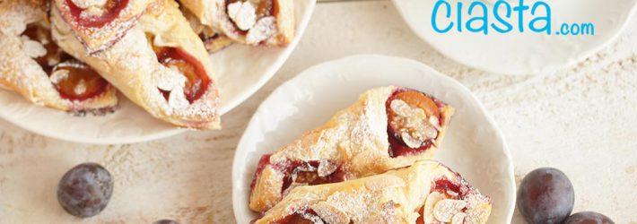 ciastka francuskie ze sliwkami - szybki przepis