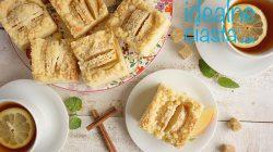 proste ciasto z jablkami i kruszonka