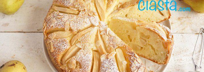 szybkie ciasto z gruszkami