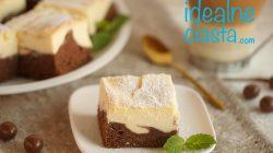 ciasto izaura (sernik na murzynku)