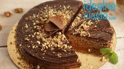 pischinger z kremem czekoladowo-orzechowym