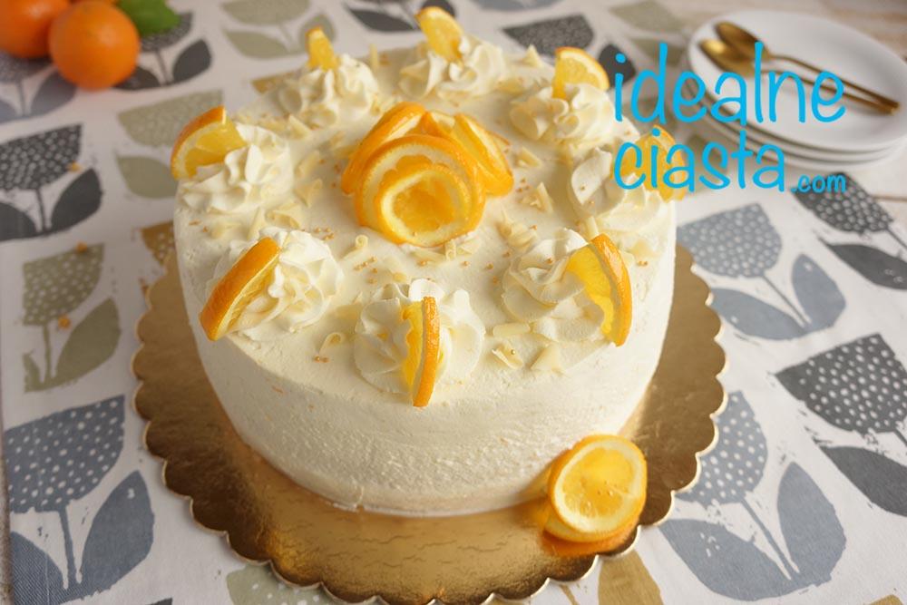 lekki tort pomaranczowy