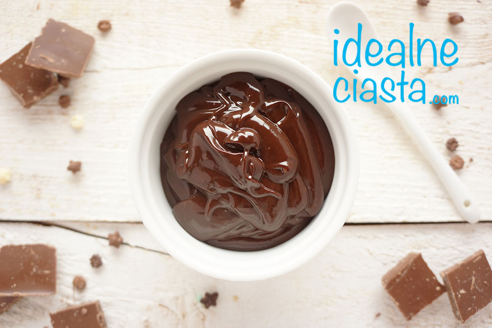 czekoladowa polewa do ciasta