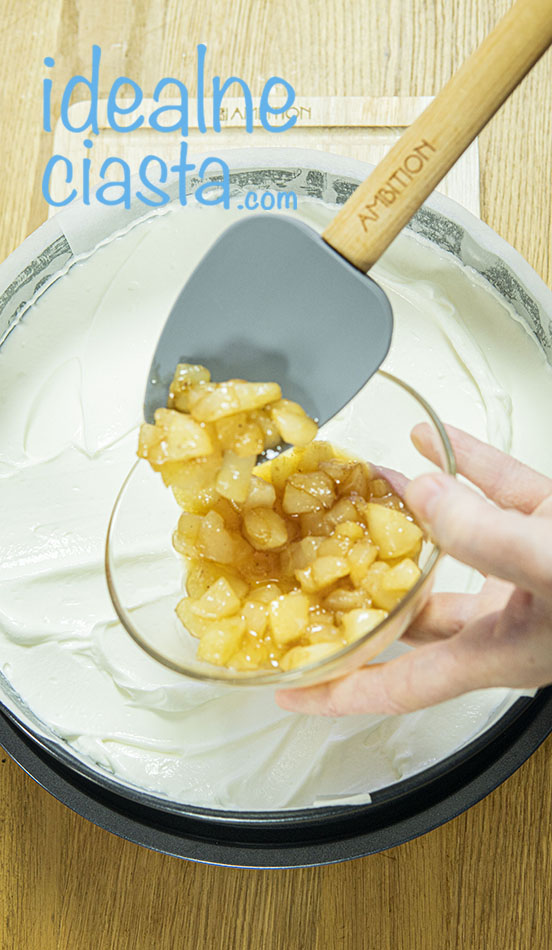 jak zrobic sernik na zimno z owocami