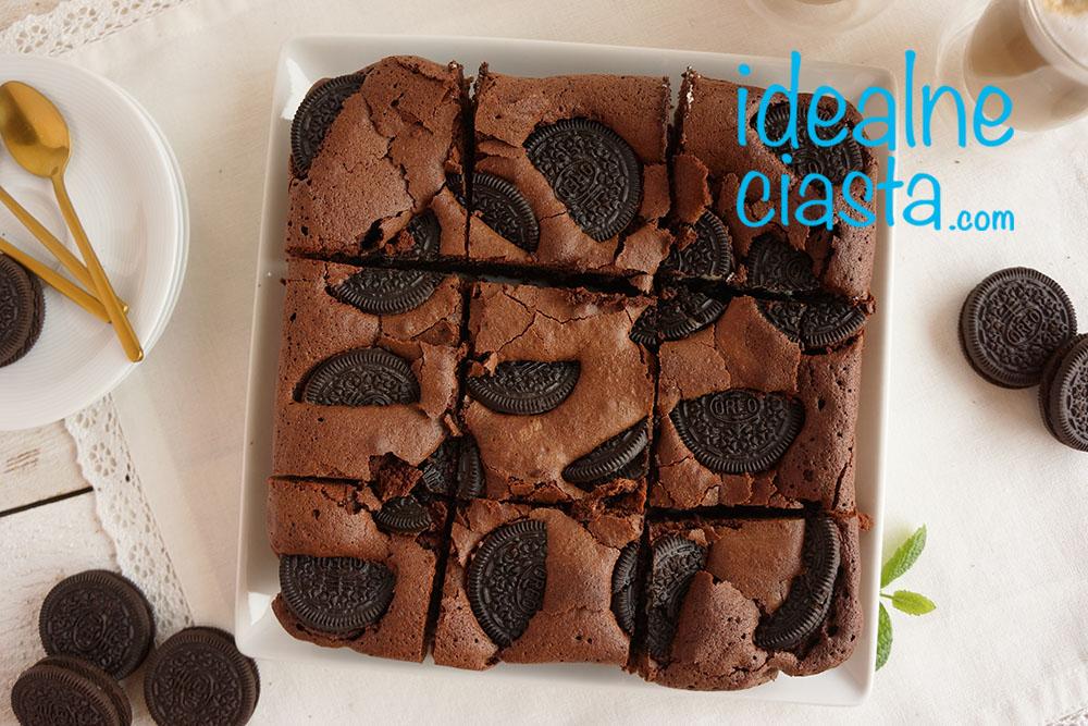 bardzo czekoladowe ciasto z oreo