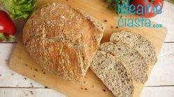 chleb z garnka pszenno-zytni z ziarnami