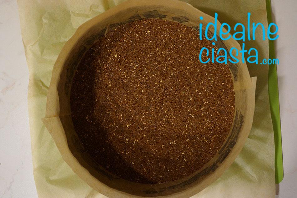 jak zrobic ciasteczkowy spod do sernika