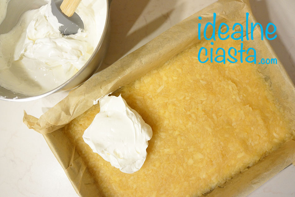 jak zrobic ciasto z budyniowa pianka
