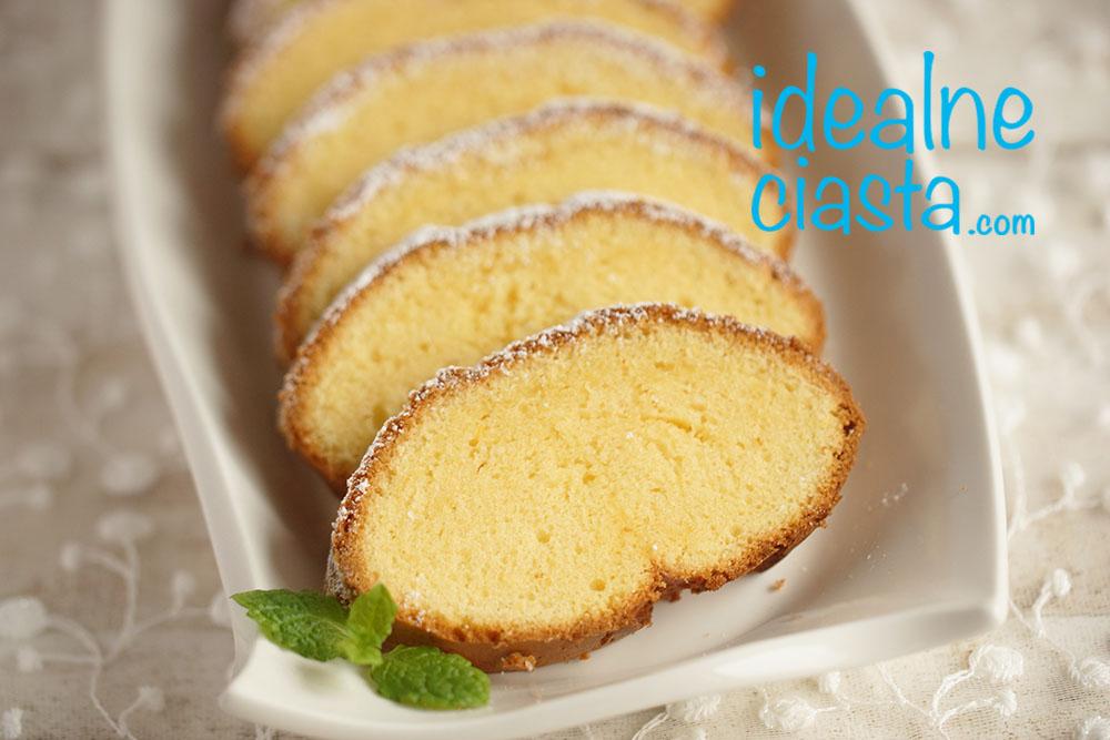 przepis na ciasto z zoltkami