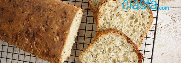 chleb mieszany lyzka