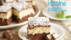 ciasto bounty - przepis na duza blache
