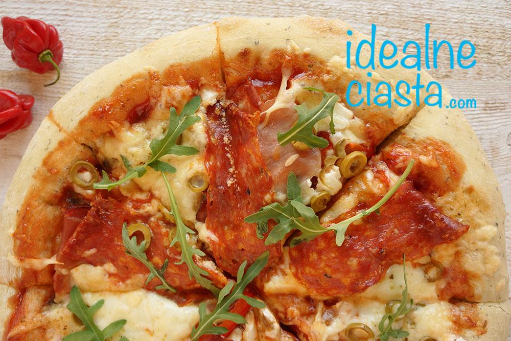 pizza latwy przepis