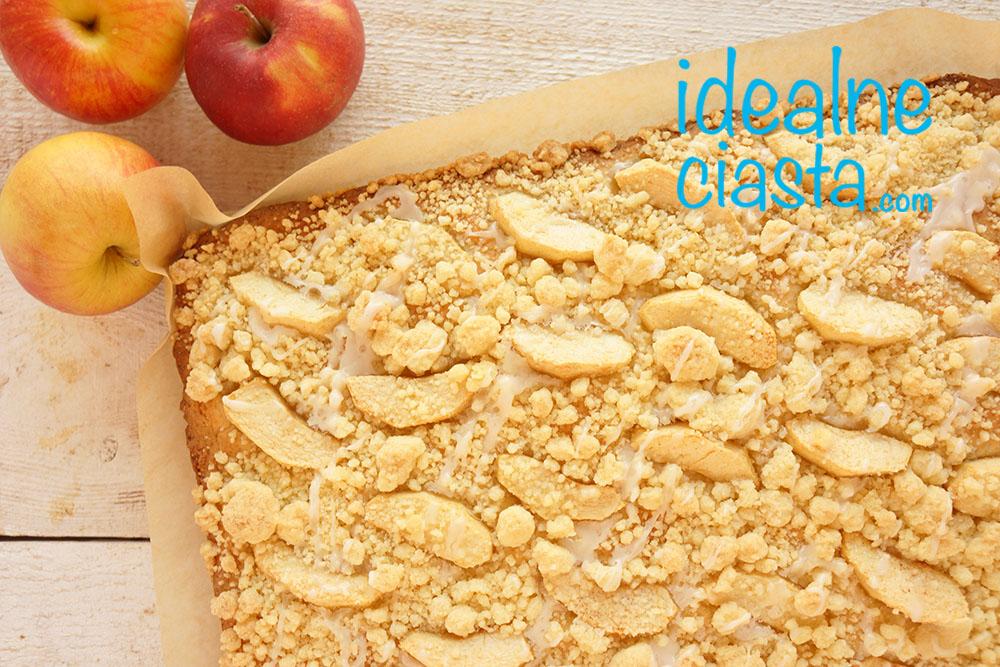 ciasto z jablkami i krszonka