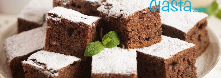 ciasto czekoladowo bananowe bez miksera