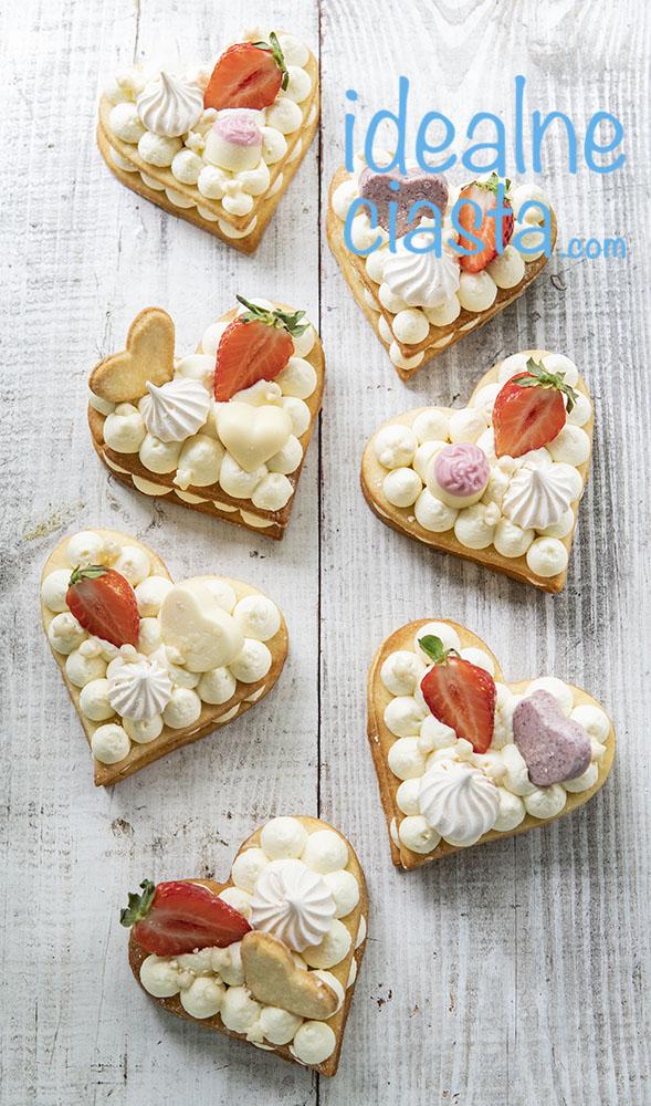 przekładane ciasteczka