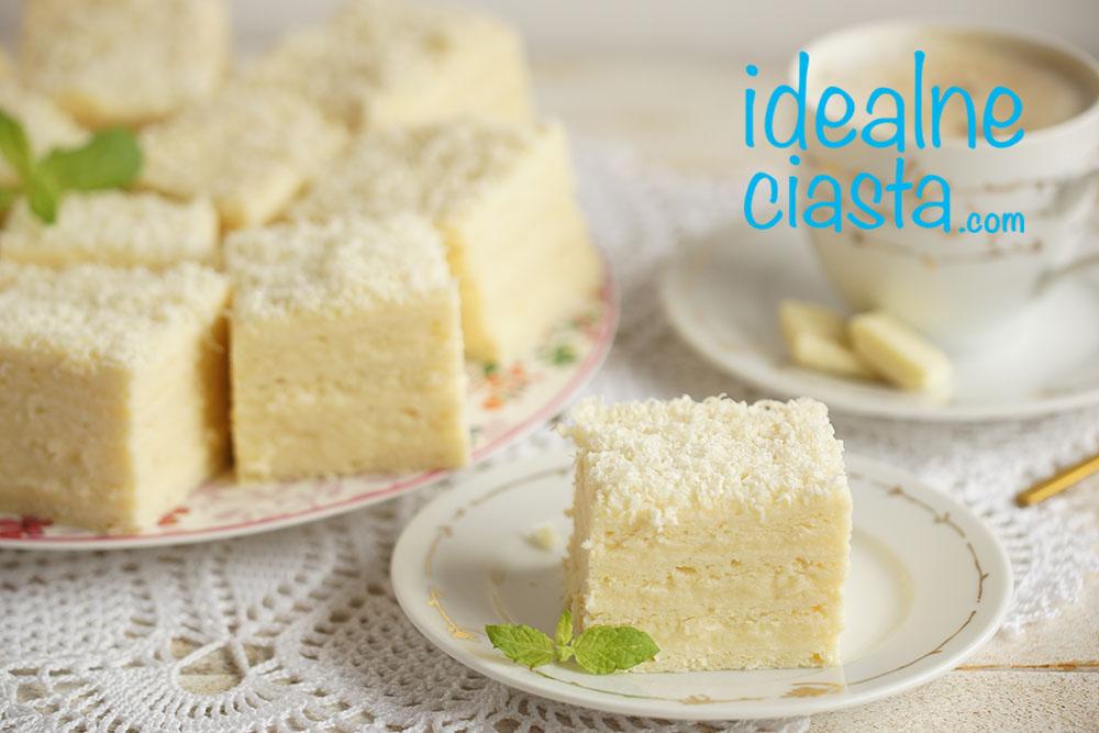 ciasto z biała czekolada