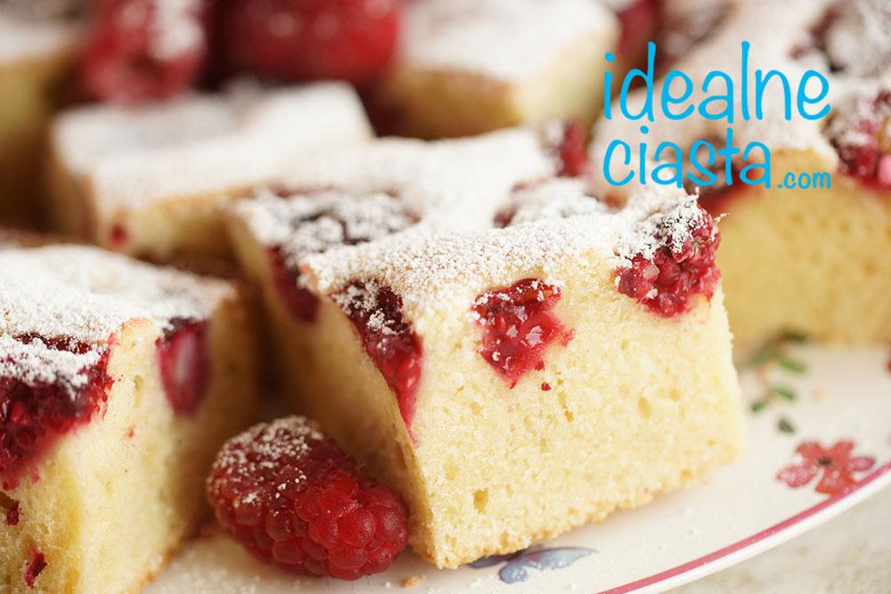 ciasto śmietanowe z owocami