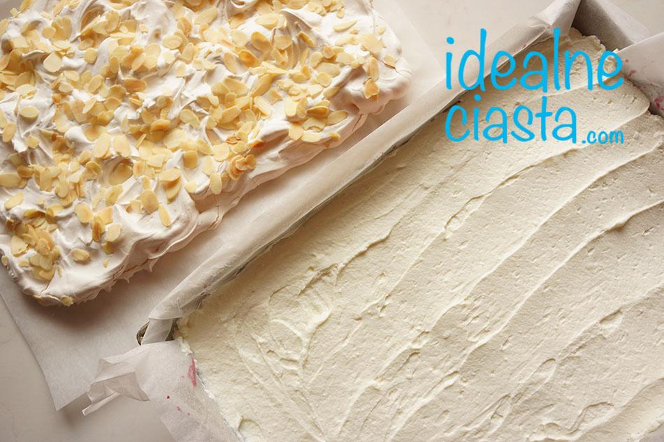 jak zrobic ciasto z kremem i beza