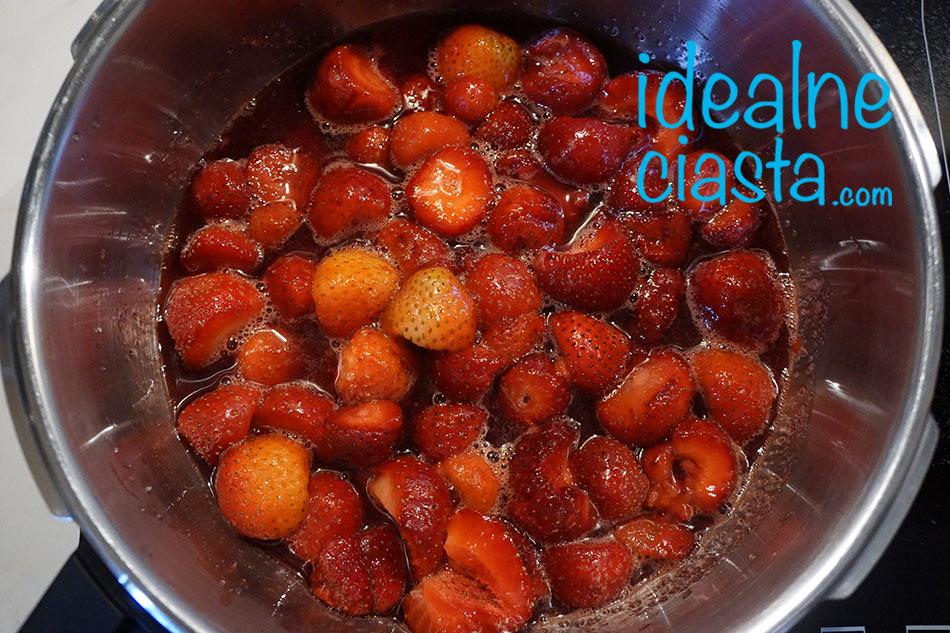 jak zrobic dżem truskawkowy