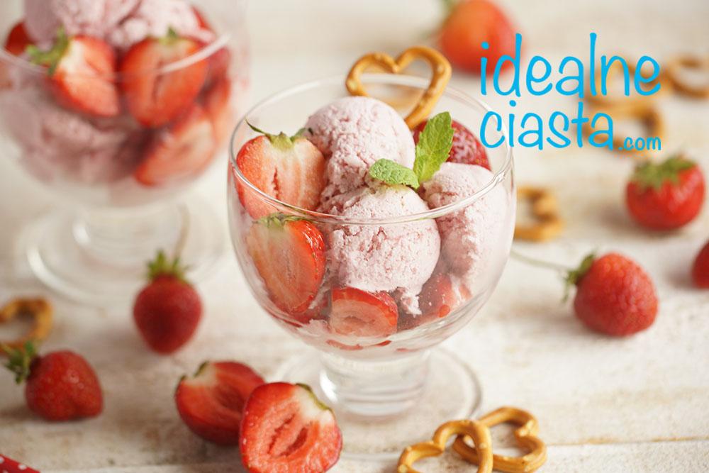 przepis na lody z owocami