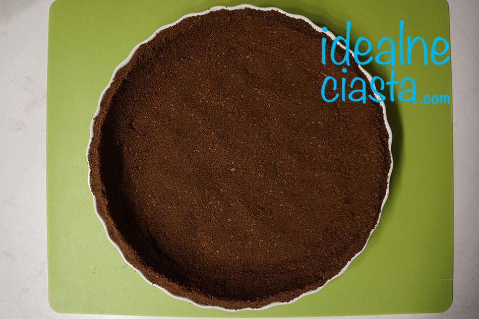 jak zrobic ciasteczkowy spod do tarty
