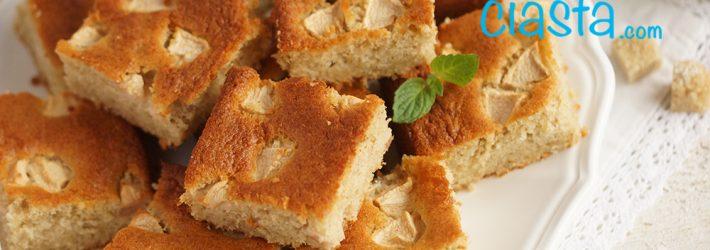 ciasto owsiane z jablkami
