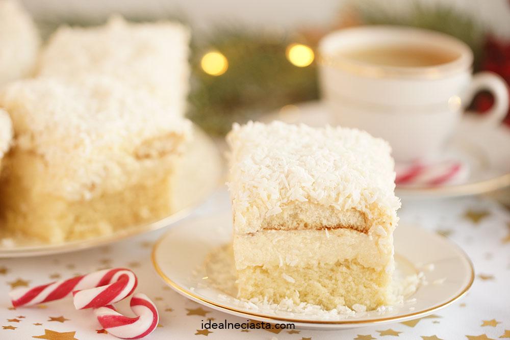 śnieżne ciasto