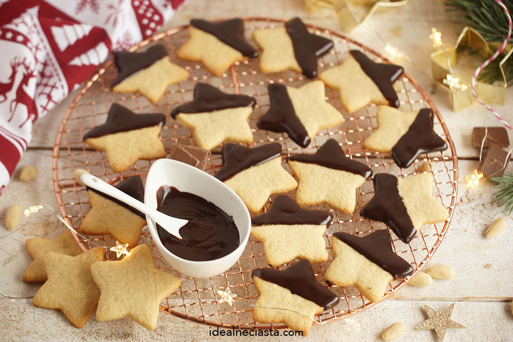 ciasteczka w czekoladzie