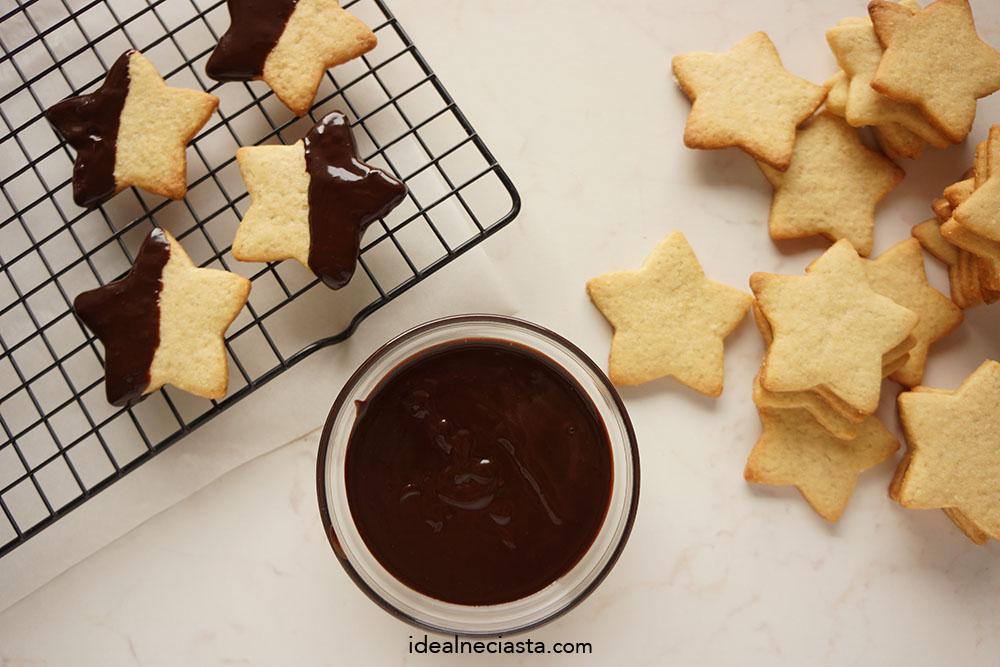 jak zrobic ciasteczka w czekoladzie