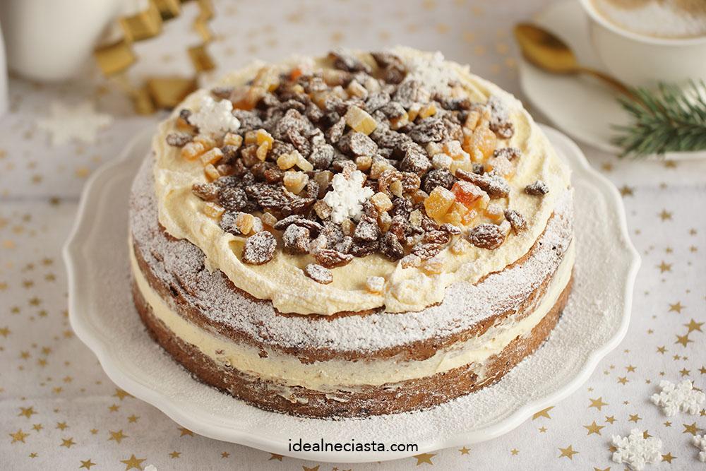 tort z bakaliami