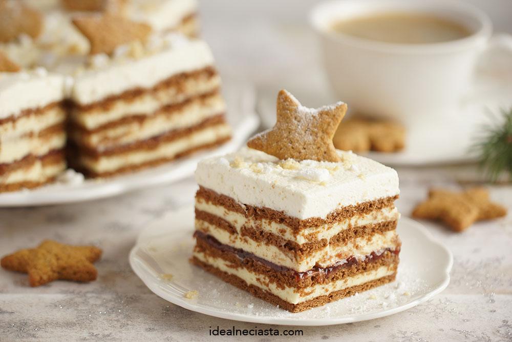 ciasto warstwowe z kremem