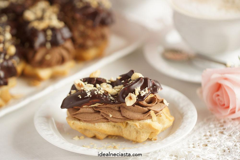 eklerki czekoladowe