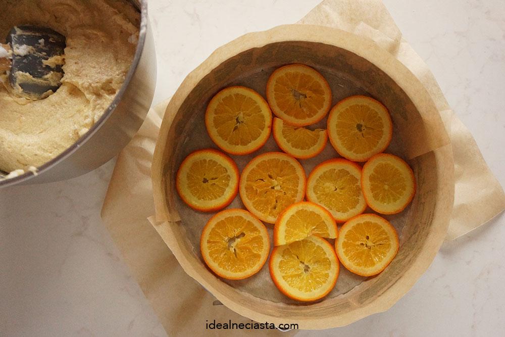jak upiec odwrócone ciasto pomarańczowe
