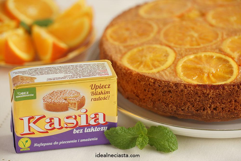 ciasto pomarańczowe bez laktozy