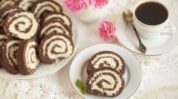 rolada kakaowo kokosowa