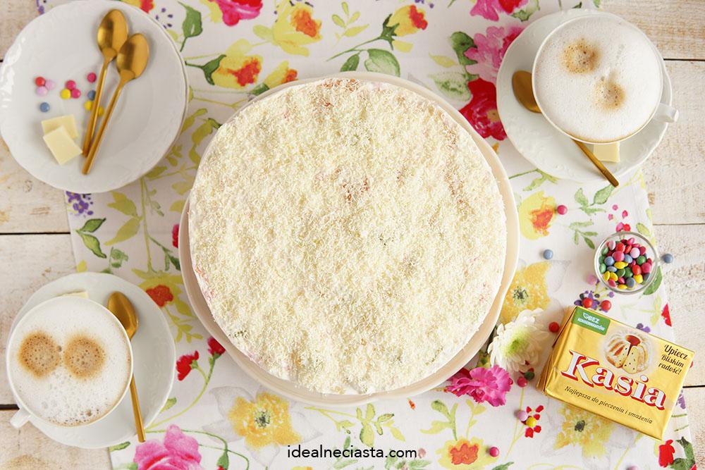 ciasto Å›mietankowe