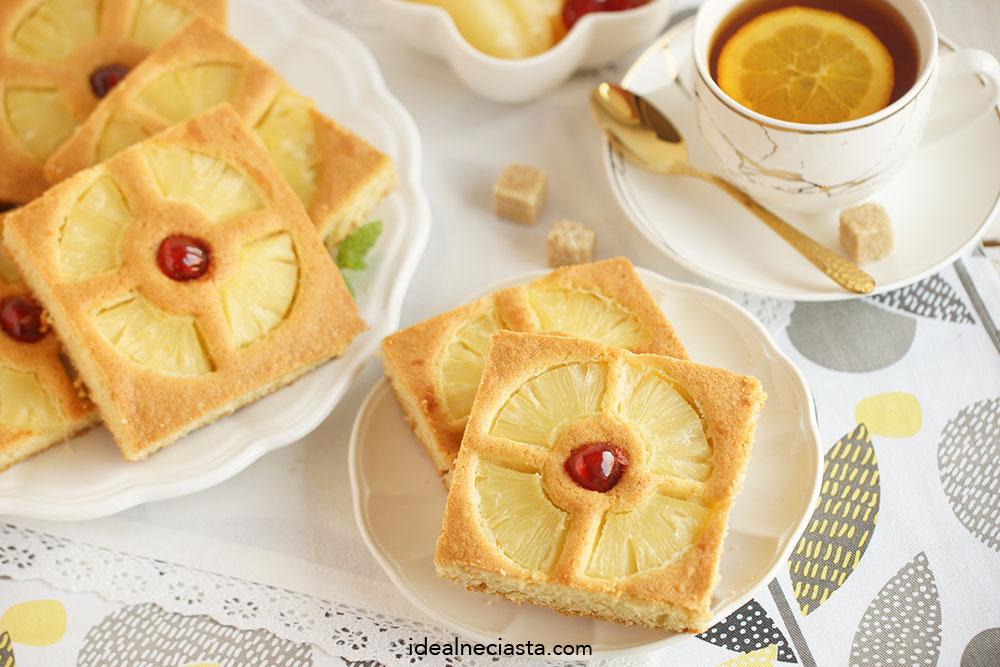 przepis na ciasto z ananasem