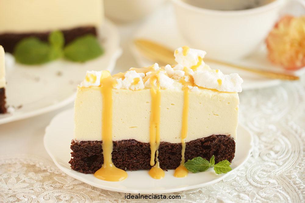 tort adwokatowy z czekolada