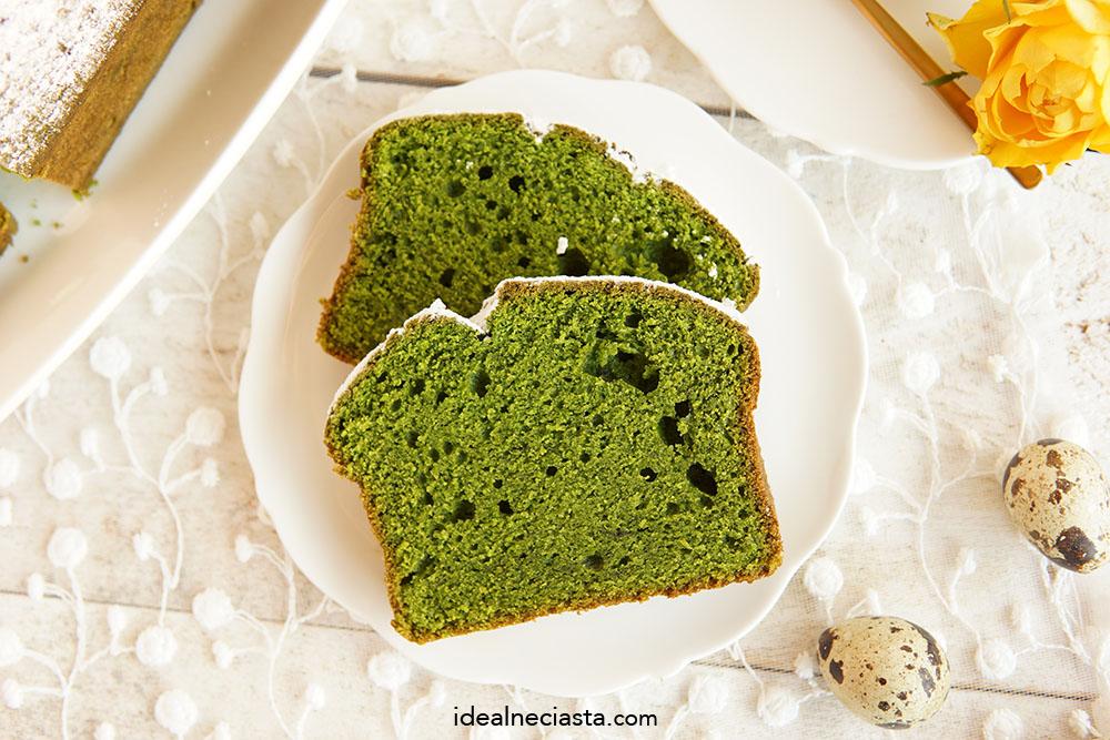 zielona babka szpinakowa