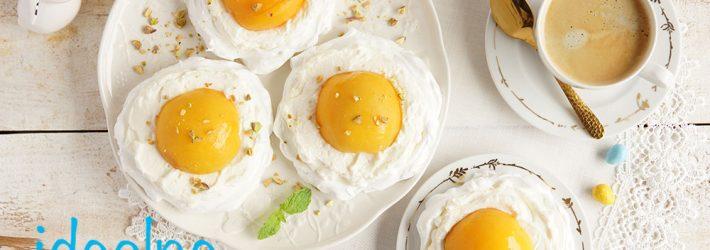 bezy jajka sadzone