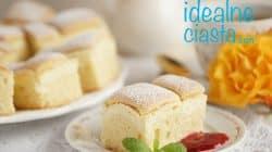 waniliowy poduszkowiec z serem