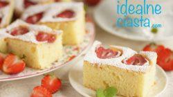 ciasto jogurtowe z truskawkami przepis