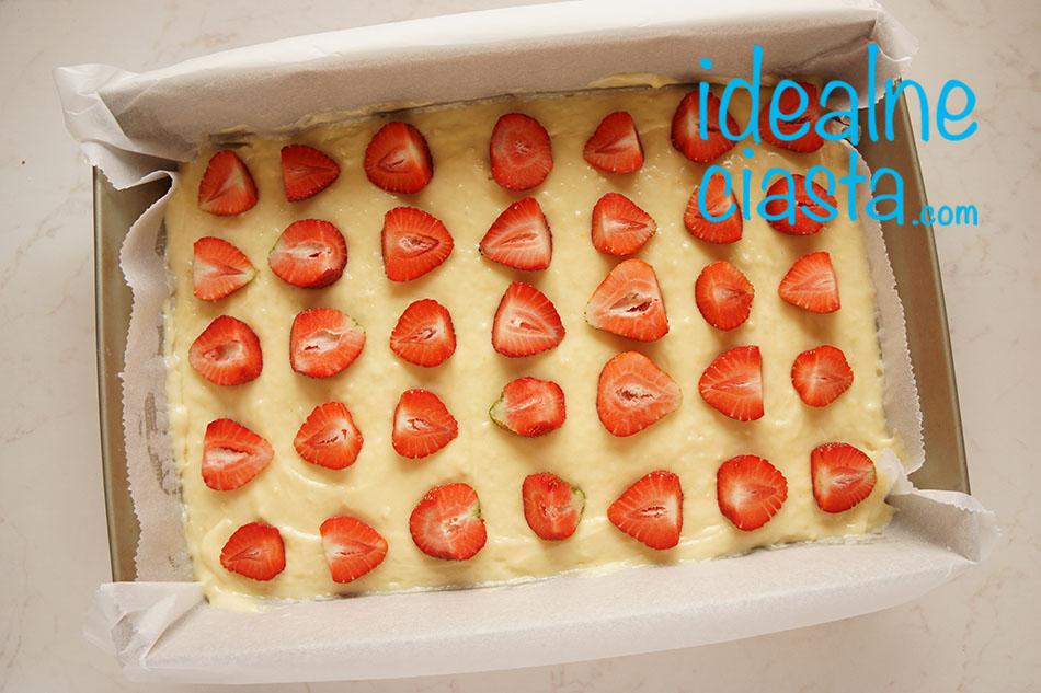 jak zrobic ciasto z truskawkami