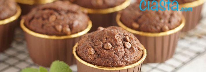 muffinki czekoladowo-bananowe