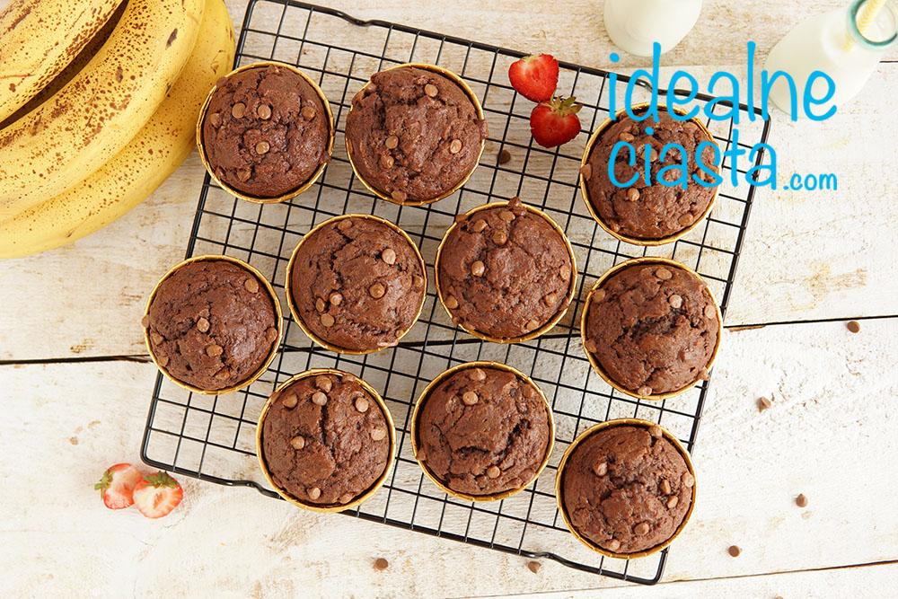 Å'atwe muffinki z czekolada