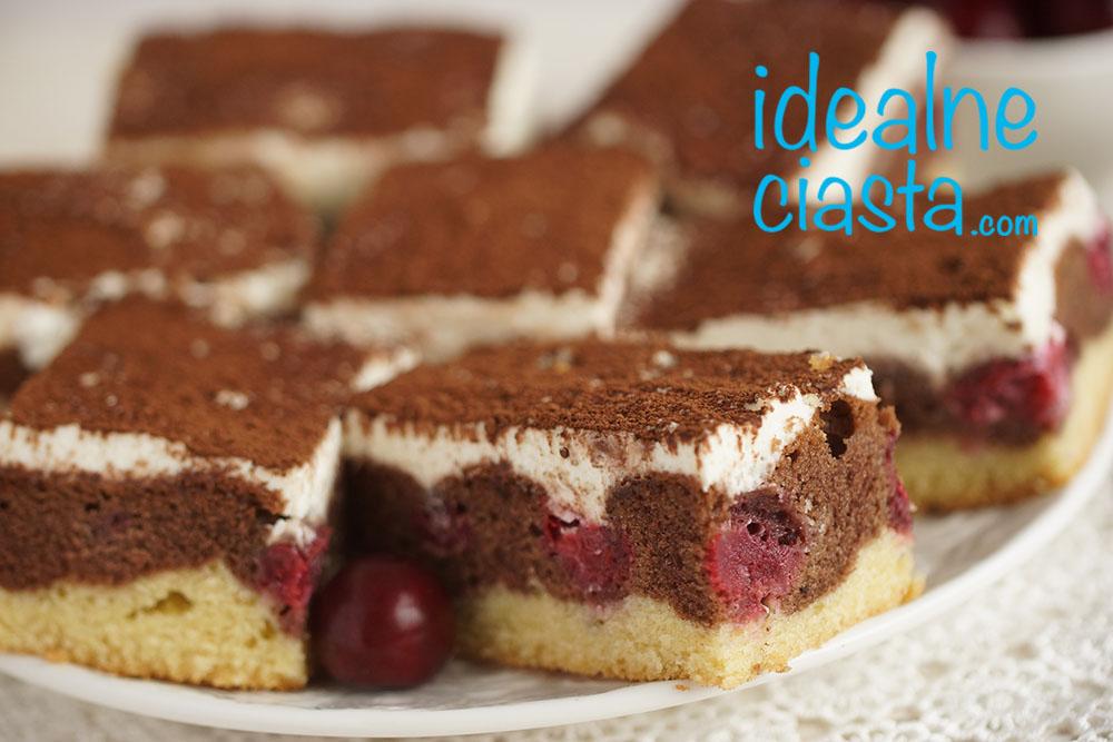 przepis na ciasto z wiÅ›niami