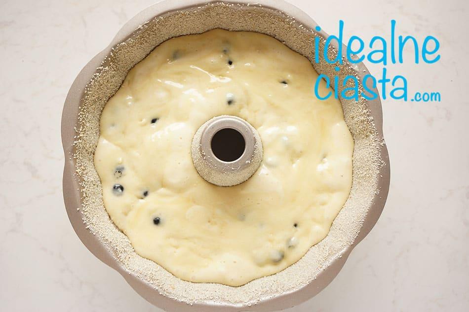 jak upiec ciasto z borówkami