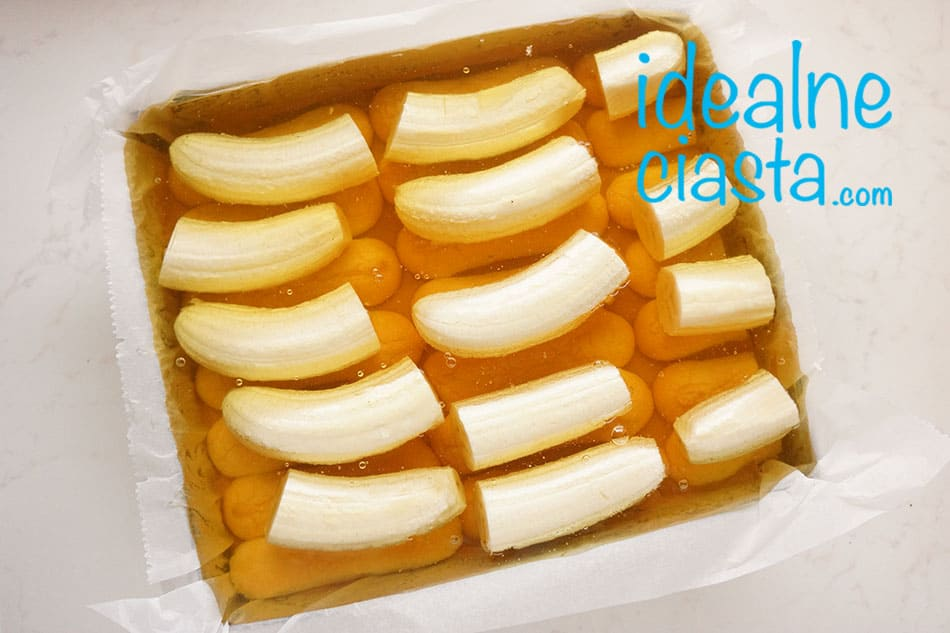 jak zrobic ciasto z bananami